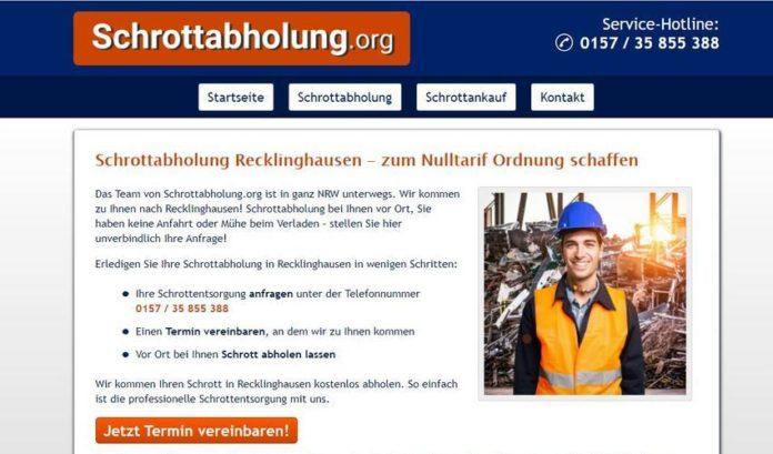 image 1 262 696x409 - Schrottabholung Recklinghausen – die Alternative zum Sperrmülltermin