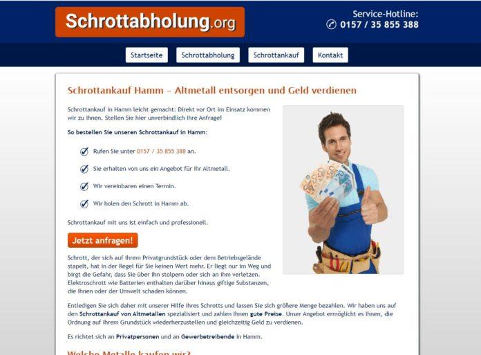 image 1 71 696x513 - Schrottankauf in Hamm bei einem fahrenden Schrotthändler