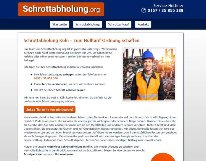 image 1 74 696x544 - Die Schrottabholung in Köln arbeitet auf einem der ältesten Tätigkeitsfelder der Menschen
