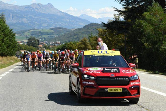 image 1 132 696x465 - ŠKODA AUTO zum 18. Mal offizieller Hauptpartner der Tour de France