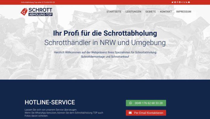 image 1 164 696x394 - Schrottabholung TOP in NRW: Wir sind für Sie da