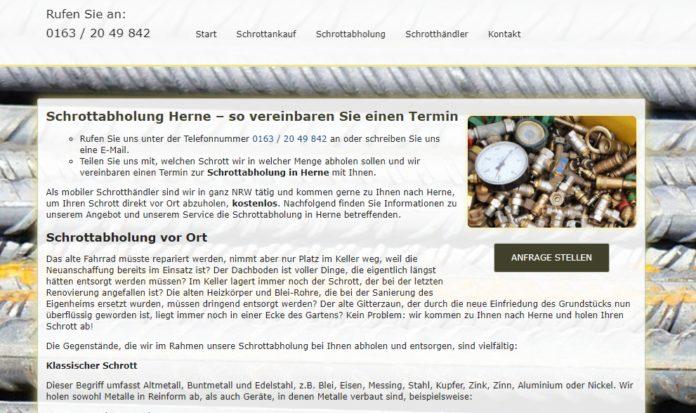image 1 173 696x413 - Schrottabholung und Schrottankauf aus einer Hand mit dem Schrottabholung in Herne