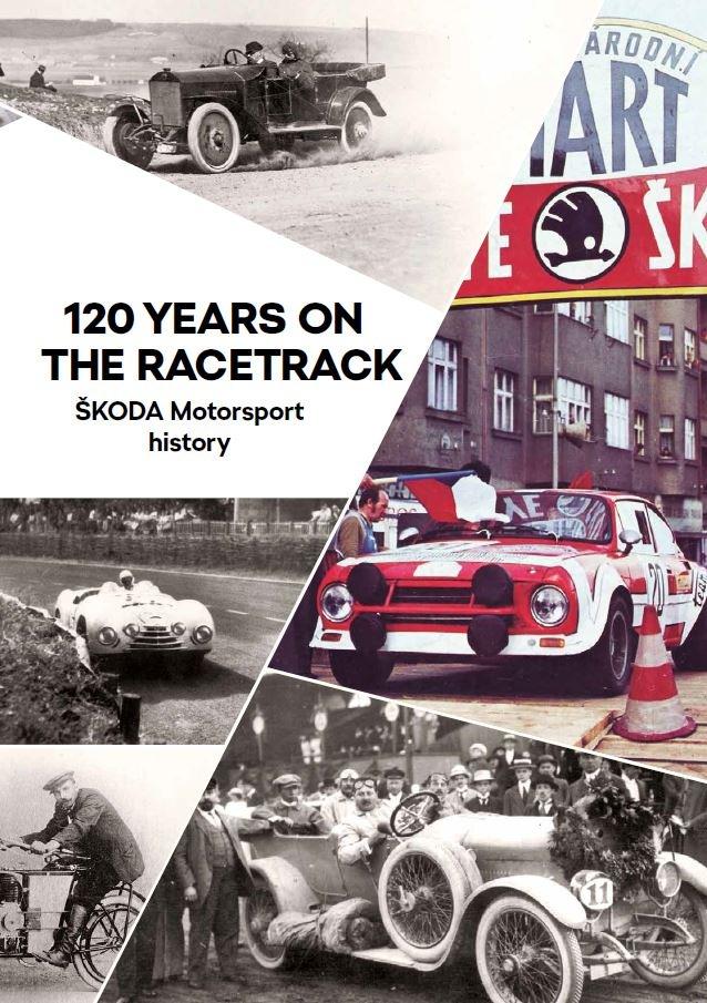 BroschC3BCre - 120 Jahre ŠKODA Motorsport: Broschüre und Video zu ausgewählten Meilensteinen