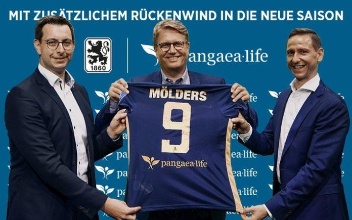 Daniel20Regensburgers Trikot20des20TS 696x435 - Pressemeldung - Nachhaltigkeit auf dem Rücken: Pangaea Life wird neuer Trikot-Rückensponsor des TSV 1860 München