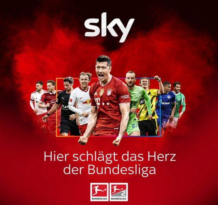 169130 34 Sky KeyVisonstart Herz KV 696x653 - Die Bundesliga ist zurück: der Auftakt-Samstag der Saison 2021/22 live und exklusiv bei Sky