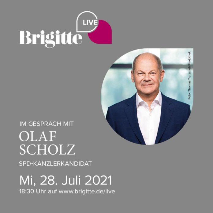 BRIGITTE LIVE Olaf Scholz 696x696 - Presseeinladung & Terminankündigung: BRIGITTE LIVE im Gespräch mit Olaf Scholz