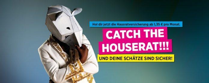 Bayerische Kampagnenv HouseRat 2021 696x278 - Catch the houserat: Versicherungsgruppe die Bayerische startet innovative Hausrat-Werbekampagne
