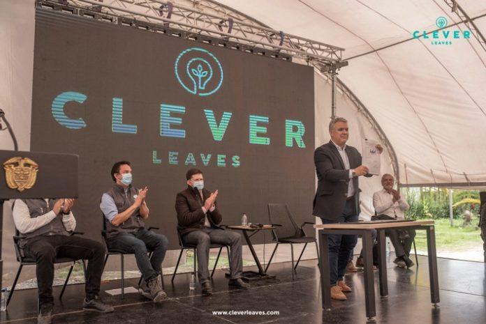 CleverLeaves Duque Dekret 696x465 - Clever Leaves kann zukünftig medizinische Cannabisblüten aus Kolumbien exportieren