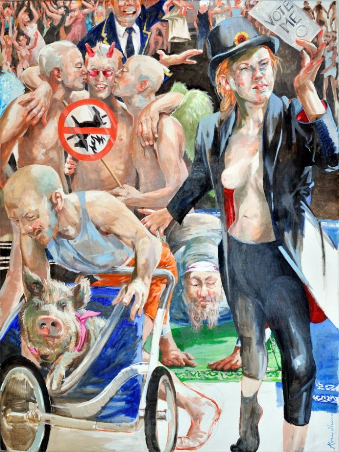 Diversity 696x927 - Die 'Nackte Gewalt' dauerhaft im Rosenhang Museum Weilburg