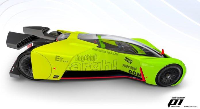FordGamescom2021 TFZ P1 1 696x380 - Ford verwandelt P1-Rennwagen in Gaming-Simulator und ruft Community zur Mitwirkung am Supervan-Projekt auf