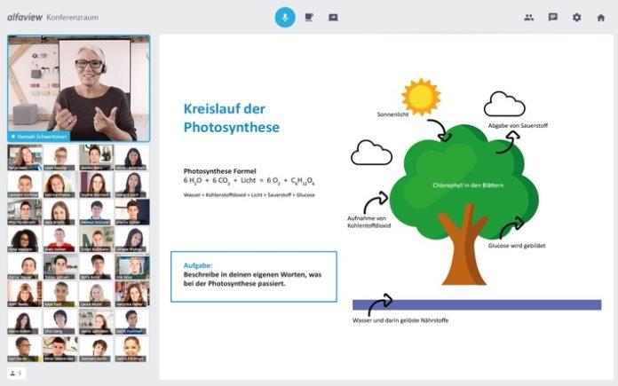 Fotomontage 30SchC3BCler PrC3A4sentation 696x435 - Deutscher Lehrerverband will personenbezogene Daten von Schüler*innen ohne Not an US-Konzern Microsoft weitergeben
