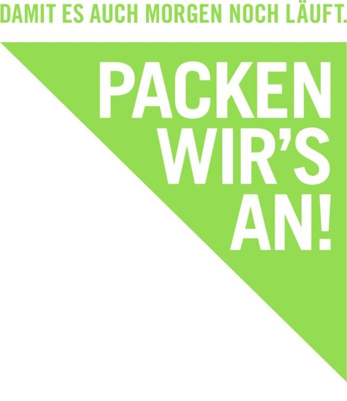 Logo Packen20wirs20an Wasser 696x805 - Packen wir's an! - Damit es auch morgen noch läuft. / Neue Nachhaltigkeitswoche der Bertelsmann Content Alliance