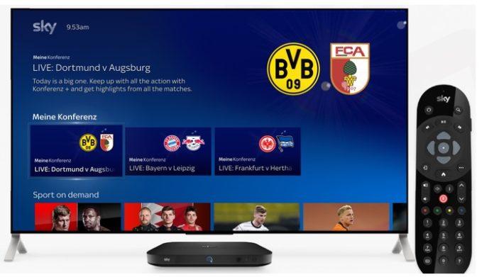 """Meine20Konferenz201.Sky20Q20MenC3BC 696x391 - """"So hast Du die Bundesliga noch nie gesehen""""- Die neue """"Meine Konferenz""""-Funktion für ein selbst gestaltbares Fan-Erlebnis mit Sky Q"""