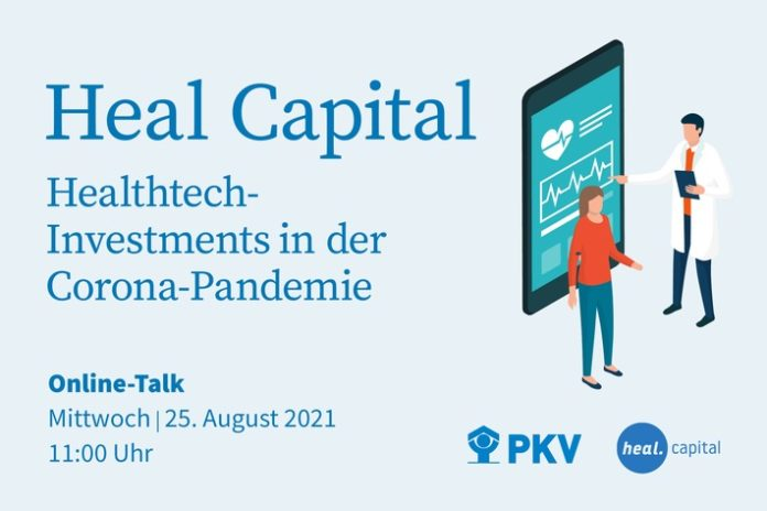 PKV Webinar HealthTech Heal20Capital 696x464 - Heal Capital: führender europäischer Investor für digitale Gesundheitslösungen