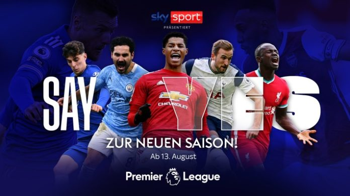 SkyPL Saison202021 22 696x391 - Alle 380 Spiele in voller Länge und mehr als 250 Spiele live: Die Premier League Saison 2021/22 live und exklusiv bei Sky