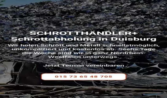 image 1 115 696x409 - Die Schrottabholung Duisburg steht für Kompetenz und ein unkompliziertes Handling