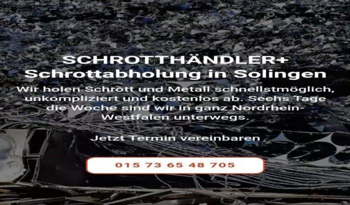 image 1 121 696x409 - Schrottabholung Solingen für die Kunden kostenlos ihren Metallschrott abholen zu lassen