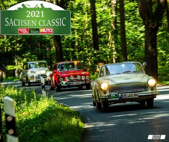 image 1 72 696x583 - Premiere im Freistaat: 18. Sachsen Classic ist die erste klimaneutrale Classic-Rallye der Motor Presse Stuttgart