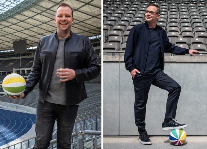 ranFussball PM 20210722 696x503 - Auftakt-Hammer: Wolff-Christoph Fuss und Matthias Opdenhövel berichten vom Klassiker Schalke 04 - Hamburger SV am Freitag, 23. Juli, live in SAT.1