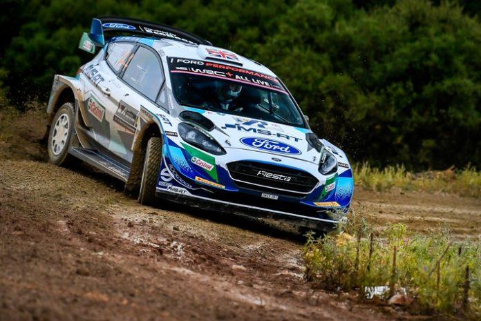 001 WRC Griechenland Greensmith 696x465 - Starkes Ergebnis für die Rallye-Fiesta von M-Sport Ford bei der Akropolis-Rallye Griechenland
