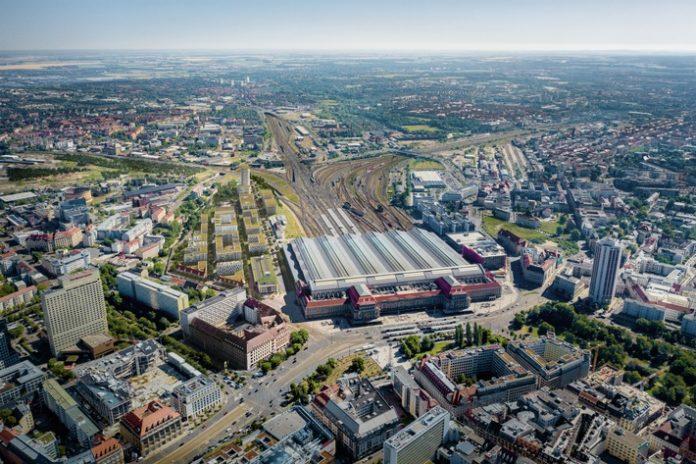 03 Aerial South 14 696x464 - Nachhaltiges Bauprojekt: Leipziger Löwitz Quartier erhält höchste Auszeichnung