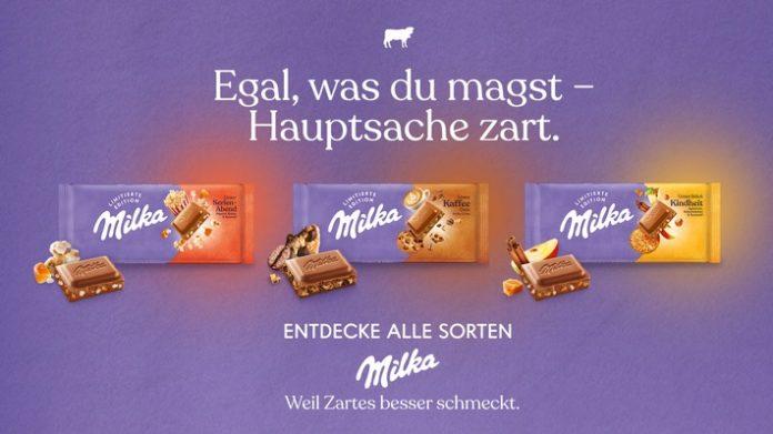 210831 Milka Explorer LET Visual 696x391 - Egal, was du magst - Hauptsache zart! Milka launcht neue Schokoladensorten / Milka zelebriert die Vielfalt ihrer Schokoladensorten und inspiriert die Menschen, über das Offensichtliche hinauszuschauen