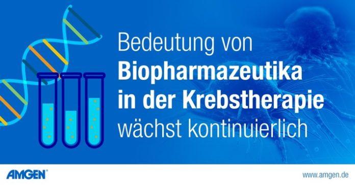 21091420 20Amgen20Grafir20Krebstherapie 696x363 - Aktuelle Daten: Bedeutung von Biopharmazeutika in der Krebstherapie wächst kontinuierlich