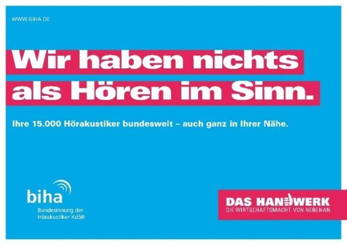 21091520Tag20des20Handw Copyright biha 696x492 - Hörakustiker-Handwerk zum Tag des Handwerks / Menschlich, modern und mit Zukunft