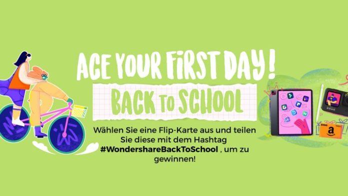 23WondershareBackToSchool 696x392 - Wondershare startet die Back-to-School-Kampagne, um das neue Schuljahr einzuläuten / Wondershare hat sich mit ISIC Canada zusammengetan, um spezielle Angebote für Schüler und Pädagogen zu machen