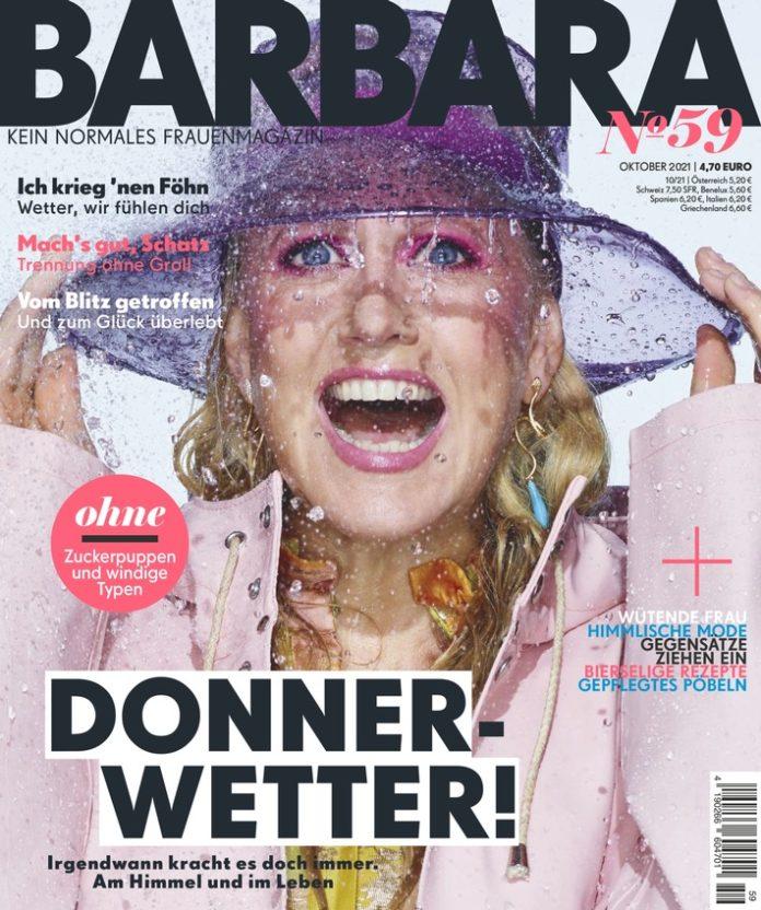 """BARBARA Cover Nr59 696x832 - Peter Plate und Ulf Leo Sommer: """"Sehr, sehr viele Tränen"""""""