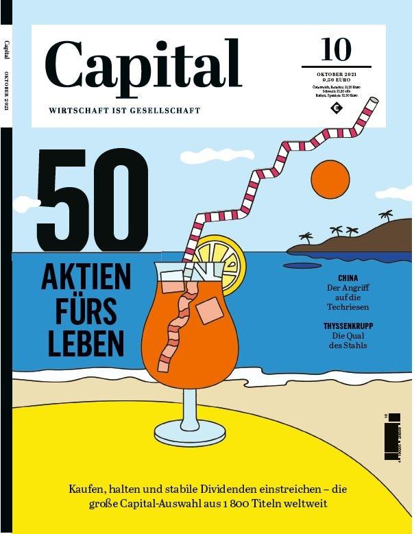 """Capital 10 21 Cover - """"CAPITAL Makler-Kompass 2021"""": Rekordzahl an Teilnehmern"""