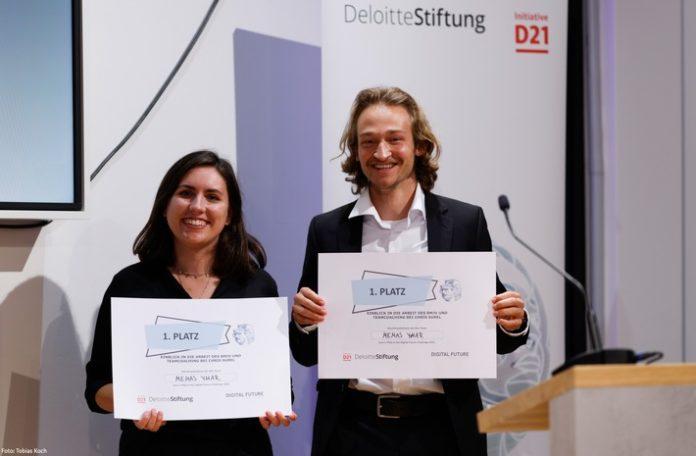 DigitalFutureChallenemas TobiasKoch 696x456 - Projekt zur Klimaneutralität in Unternehmen gewinnt Digital Future Challenge