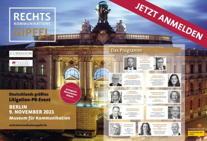 EA RKG 2021 150dpi Programm 696x472 - Rechtskommunikationsgipfel am 9. November 2021 in Berlin / Das Programm / Jetzt anmelden
