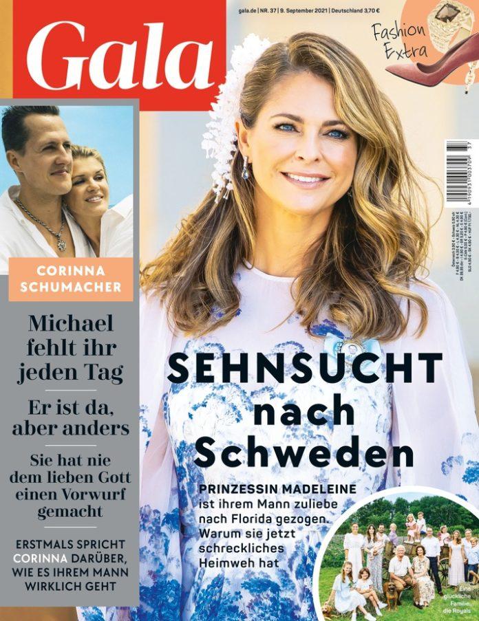 """GALA 37 2021 696x903 - Uschi Obermaier: """"Ein paar Männer hätte ich mir vielleicht sparen können"""""""