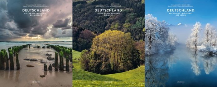 KOE20FOL2834DEU1 320U1 696x282 - Streifzug durch Deutschland / Kultur und Landschaft in 3 Bänden mit 2112 Seiten und 6000 Abbildungen