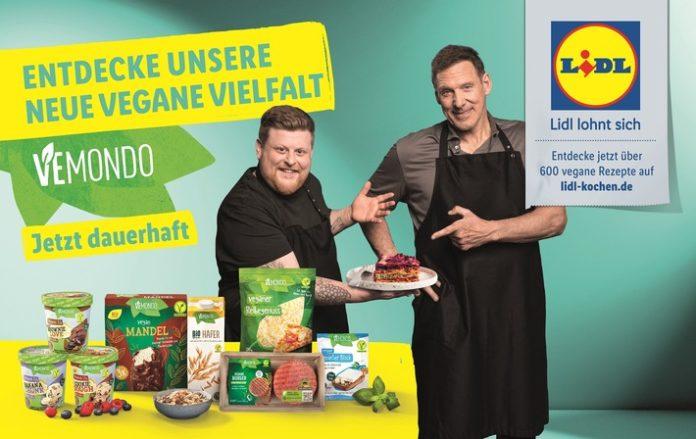 """Lidl Vegan Vemondo Kressefoto klein 696x439 - Lidl zeigt vegane Vielfalt mit """"Vemondo"""" / Leckere Rezepte mit pflanzlichen und klimaneutralen Alternativprodukten im Fokus der neuen Lidl-Marketingkampagne"""