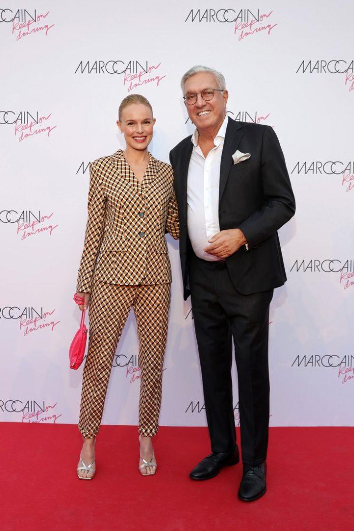 Marc20Cain Vernissage 04 sRGB 696x1044 - Marc Cain bringt Hollywood-Glanz an die Spree