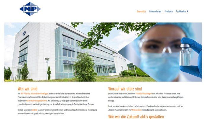 MiP20Website 696x402 - Neue Website der MiP Pharma Unternehmensgruppe / Informativ und benutzerfreundlich: mip-pharma.de