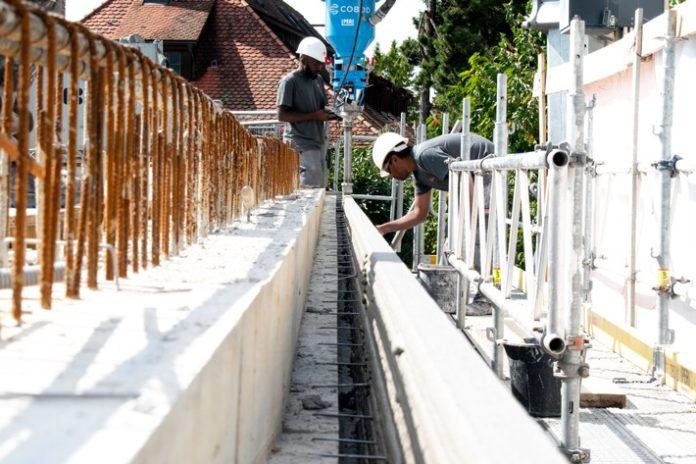 PERI203D Druck weltwe Quelle20PERI20AG 696x464 - PERI realisiert weltweit erste Wohnhausaufstockung mit 3D-Drucktechnologie