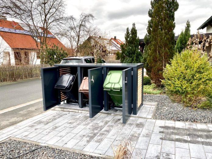 Stahl20Carport20mit20Lichmidt20macht20i 696x522 - Stahl Carport mit Lichtbahnen, Sektionaltor München - Gartenbau-Carport-Garagen Schmidt macht in der ganzen Region auf sich aufmerksam