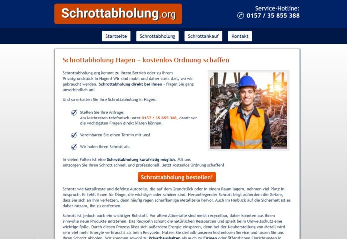 image 1 113 696x480 - Der Altmetall-Ankauf ergänzt die Dienstleistung der Schrottabholung in Hagen