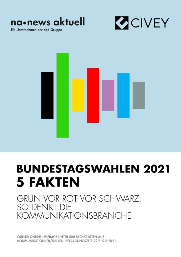 newsaktuell civey uml2021 deckblatt 696x983 - Bundestagswahlen 2021: So denkt die Kommunikationsbranche