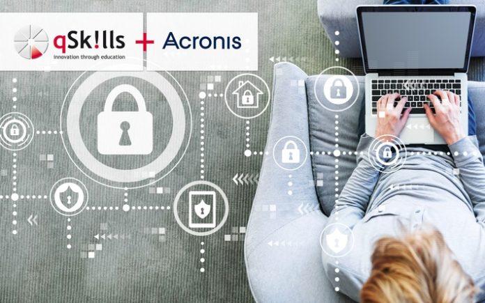qSkills20Trainingspartock 1311322823 696x435 - Acronis gibt Trainingspartnerschaft mit qSkills bekannt