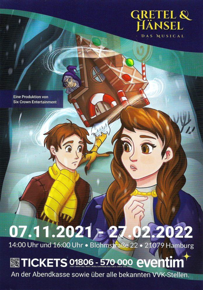 image 1 17 696x996 - Kinderspaß in der Adventszeit 2021 in Hamburg - GRETEL & HÄNSEL das MUSICAL